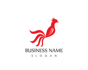 Rooster Logo Design Template