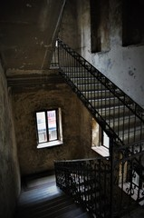 Old apartment house in Hungary, Budapest