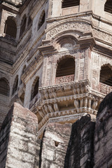 Mehrangarh Fort in Jodhpur, Rjasthan, India
