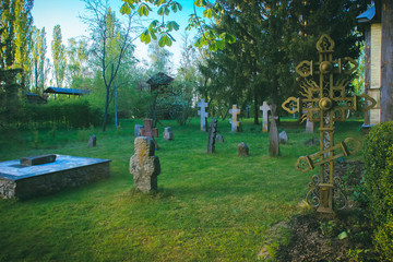 Tombstones in the Old Cemetery
