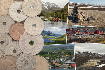 Norway coins and pictures
