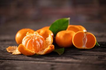 Healthy fruits, tangerine fruits background many tangerine fruits.