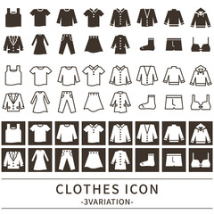 ファッション アイコン セット