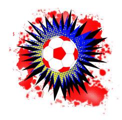 Soccer Ball Comic Boom
