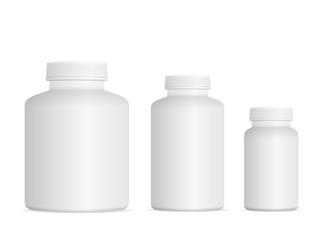 Medicine pill bottle set