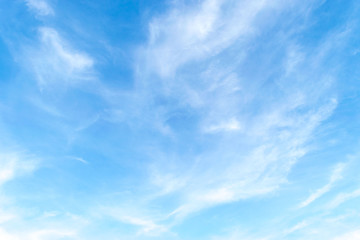 blue sky with cloud. Cloudscape background.