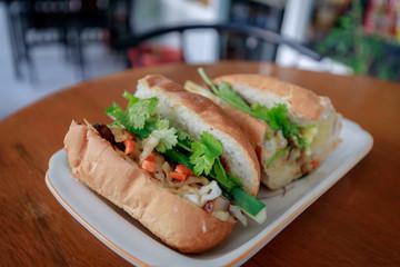 Vietnamese sandwich banh mi