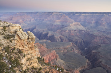 View from Mather Point at sunrise, Grand Canyon NP, Arizona, USA