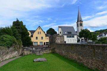 Spätrömisches Kastell in Boppard