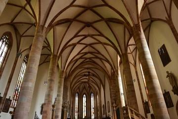 Innenansicht der St. Nikolaus Kirche in Meran - Südtirol