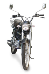 old retro motorcycle