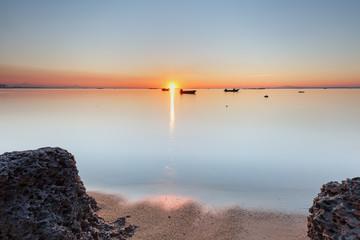 Xiamen Guanyinshan Beach Sunrise