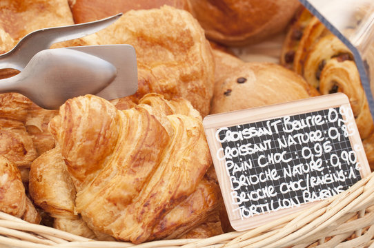 French croissants for sale