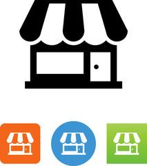 Retail Shop Icon - Illustration