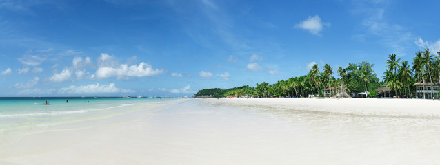 Boracay beach panoramic