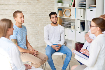 Group Therapy Session For Young people