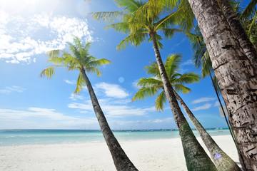boracay beach scenery,Philippines.