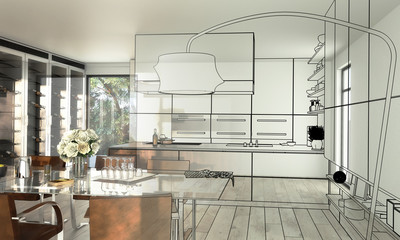 Modern Kitchen Loft (overview)