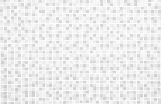 Grey and white the tile wall texture background
