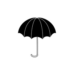 Umbrella black sign