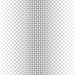 Black and white line octagon pattern