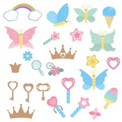 Fairy design elements