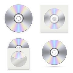Set of the CD disks