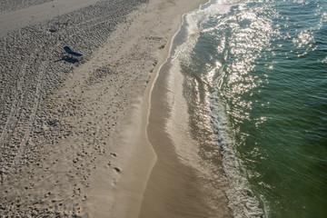Ocean View Empty Beach