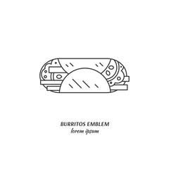 Burrito logo design
