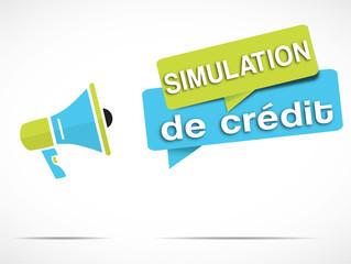 mégaphone : simulation de crédit