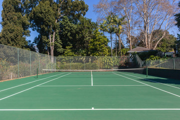 Tennis Court Secluded