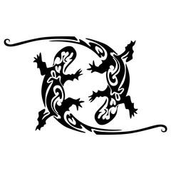 lizard tatoo