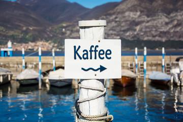 Schild 232 - Kaffee