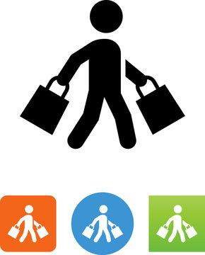 Shopper Icon - Illustration