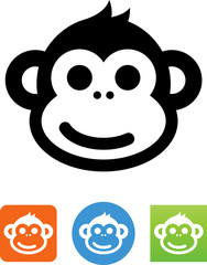 Smiling Monkey Icon