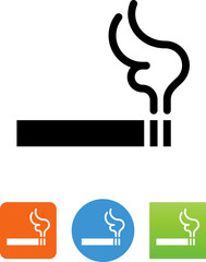 Smoking Icon - Illustration