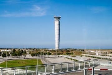 The international airport of Enfidha Hammamet in Tunisia