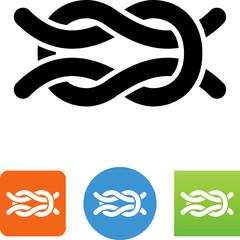 Square Knot Icon