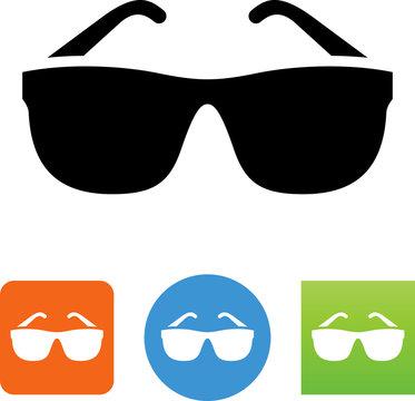 Sunglasses Icon - Illustration