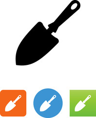Trowel Icon - Illustration