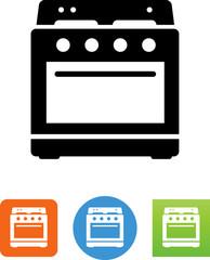 Vector Kitchen Oven Icon