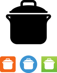 Pot Icon - Illustration