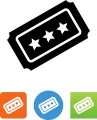 Vector Ticket Icon - Illustration