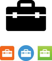 Vector Toolbox Icon - Illustration
