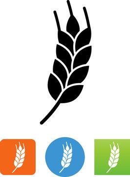 Vector Wheat Icon - Illustration