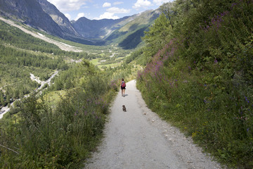 Escursione in Val Ferret Valle d'Aosta