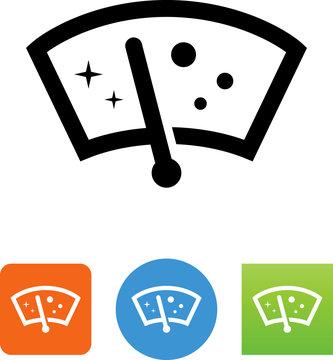Windshield Wiper Icon - Illustration