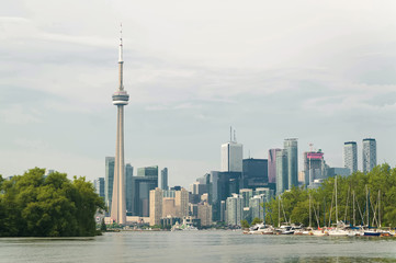 Wall Murals Toronto Toronto cityscape from the river