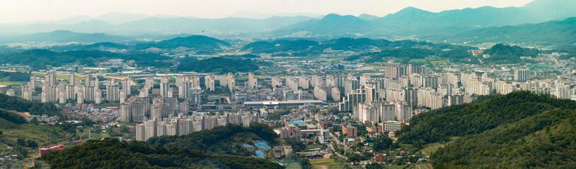 DongDuCheon South Korea Panorama 동두천 신시가지 파노라마