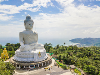 The big buddha on Nakkerd Hills Phuket